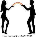 rainbow | Shutterstock .eps vector #116510950
