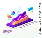 business infographic template.... | Shutterstock .eps vector #1165110763