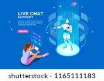 artificial intelligence  ai... | Shutterstock . vector #1165111183