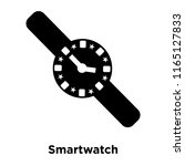 smartwatch icon vector isolated ... | Shutterstock .eps vector #1165127833