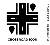 crossroad icon vector isolated... | Shutterstock .eps vector #1165130479