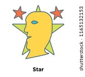 star icon vector isolated on...