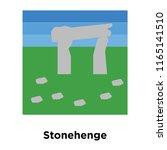Stonehenge Icon Vector Isolated ...