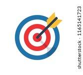 target  challenge  objective... | Shutterstock .eps vector #1165141723