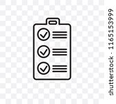 checklist vector icon isolated...