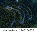 aerial view over old patched... | Shutterstock . vector #1165156390