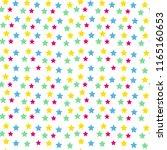 stars seamless pattern | Shutterstock .eps vector #1165160653