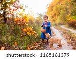 Cute Little Girl Walking In...