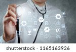 health care and medical... | Shutterstock . vector #1165163926