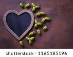 autumn mood chalkboard and... | Shutterstock . vector #1165185196