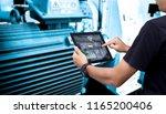 smart industry control concept... | Shutterstock . vector #1165200406