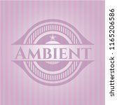 ambient realistic pink emblem | Shutterstock .eps vector #1165206586