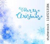 vector template for greeting... | Shutterstock .eps vector #1165213186