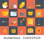 set of 20 icons such as bleach  ... | Shutterstock .eps vector #1165219123