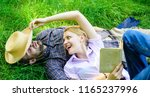 romantic couple family enjoy... | Shutterstock . vector #1165237996