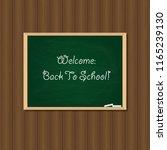 back to school. vector... | Shutterstock .eps vector #1165239130