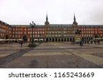 madrid   spain   october 18... | Shutterstock . vector #1165243669