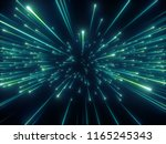3d render  big bang  galaxy ... | Shutterstock . vector #1165245343