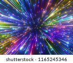 3d render  colorful new year... | Shutterstock . vector #1165245346