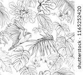 seamless pattern  background.... | Shutterstock .eps vector #1165252420
