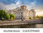 government district in berlin ...   Shutterstock . vector #1165259683