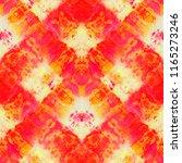 seamless tie dye pattern of ... | Shutterstock . vector #1165273246