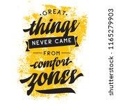 inspirational quote  motivation.... | Shutterstock .eps vector #1165279903