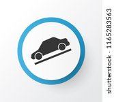 hill descent icon symbol.... | Shutterstock . vector #1165283563