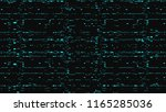 glitch. abstract shapes. chaos. ... | Shutterstock .eps vector #1165285036