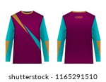 templates of sportswear designs ...   Shutterstock .eps vector #1165291510
