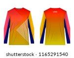 templates of sportswear designs ...   Shutterstock .eps vector #1165291540