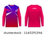 templates of sportswear designs ...   Shutterstock .eps vector #1165291546