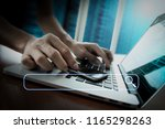 searching browsing internet... | Shutterstock . vector #1165298263