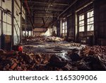 Abandoned Ruined Industrial...