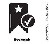 bookmark icon vector isolated...