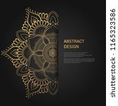 abstract luxury background  ... | Shutterstock .eps vector #1165323586
