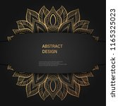abstract luxury background  ... | Shutterstock .eps vector #1165325023