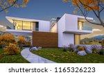 3d rendering of modern cozy... | Shutterstock . vector #1165326223