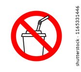 stop using plastic drinking... | Shutterstock .eps vector #1165331446