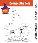 connect the dots children...   Shutterstock . vector #1165348423