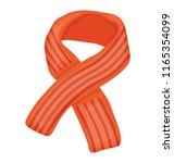 shoulder shrug in a striped... | Shutterstock .eps vector #1165354099