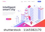 modern flat design isometric... | Shutterstock .eps vector #1165382170