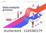 modern flat design isometric... | Shutterstock .eps vector #1165382179