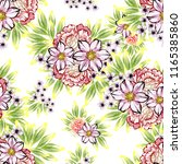 abstract seamless pattern with... | Shutterstock .eps vector #1165385860