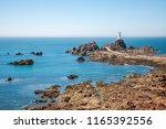 la corbiere lighthouse and... | Shutterstock . vector #1165392556