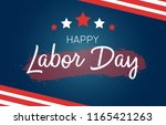 labor day greeting card with us ...   Shutterstock .eps vector #1165421263