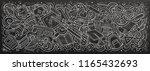 school doodles banner design.... | Shutterstock .eps vector #1165432693
