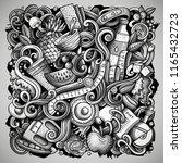 cartoon vector doodles diet...   Shutterstock .eps vector #1165432723