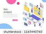 modern flat design isometric... | Shutterstock .eps vector #1165440760