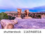 red rock canyon sandstones... | Shutterstock . vector #1165468516